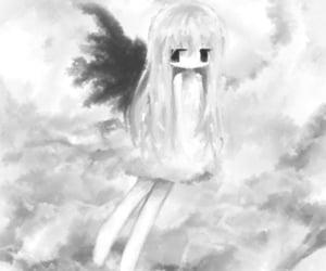 angel, dark, and cute image