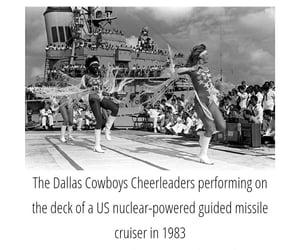 history, dallas cowboys, and cheer image