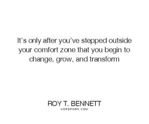 change, comfort zone, and grow image
