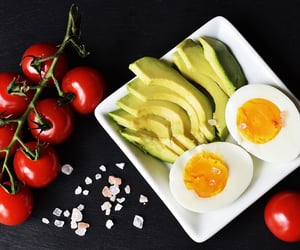 avocado, fitness, and vegetable image
