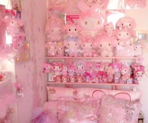 accessories, my melody, and room image