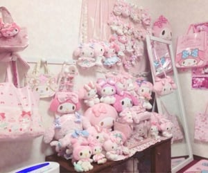 aesthetic, my melody, and plushies image