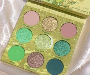 beauty, colourpop palette, and disney image