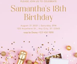 invitation, baby shower invitation, and party invitation image