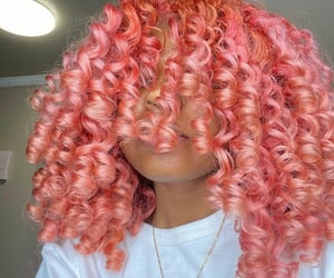 beauty, curly hair, and inspo image