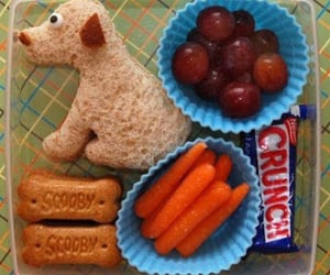 Easy, grapes, and lunchbox image
