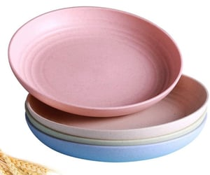 eco friendly, kitchen, and plates image