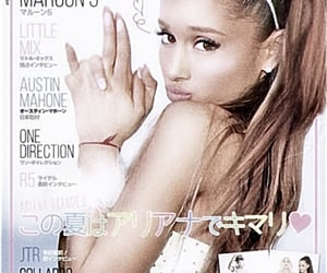 magazine, ari, and ariana grande image