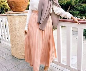 blouse, pleated skirt, and jacket image
