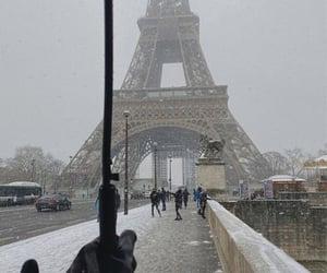 fashion, paris, and umbrella image