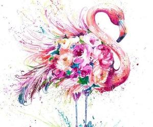 pineapple and flamingo image