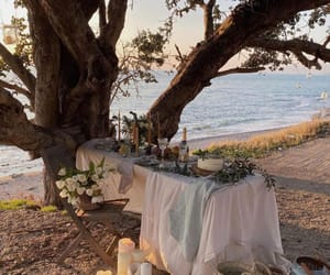 beautiful place, candle, and dinner image