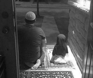 dad, islam, and muslim image