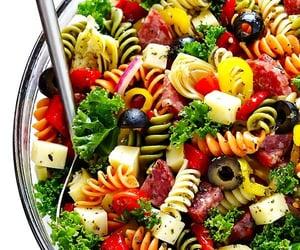 health, salad, and healthy food image
