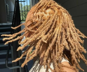 aesthetic, beauty, and dreads image
