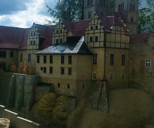 castle, fernweh, and harz image