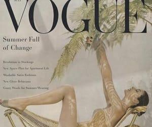 magazine cover, vintage, and vintage fashion image