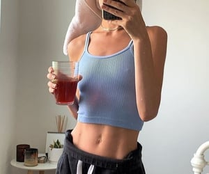 mornings, self care, and hydrate yourself image