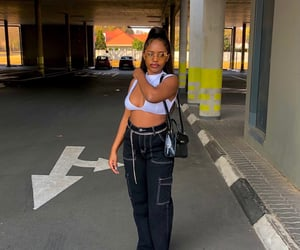 black girl, street fashion, and black girls image