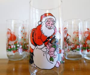 etsy, christmas glasses, and christmas tumblers image