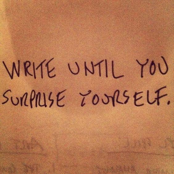 writing and write image