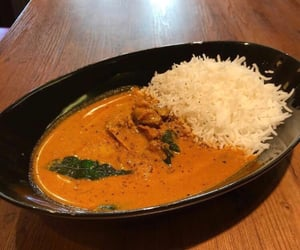 curry, dinner, and food image