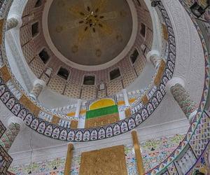 arab, castle, and arabia image