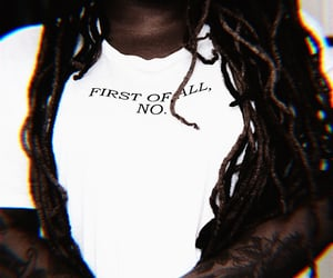 aesthetic, dreads, and tee image