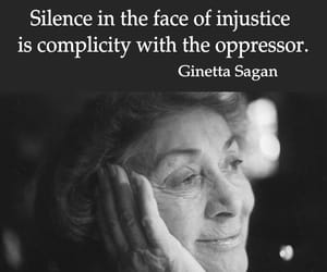good people, silence, and speak up image