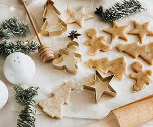 christmas, cooking, and Cookies image