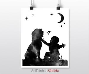etsy, nursery printable, and christmas gift image