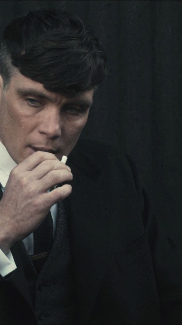 beauty, gangster, and thomas shelby image
