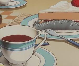 cake, anime, and anime food image