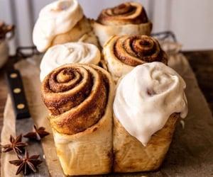 food, Cinnamon, and dessert image