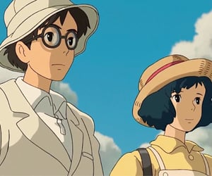 aesthetic, anime, and the wind rises image