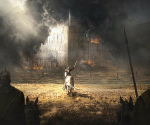art, lord of the rings, and Minas Tirith image