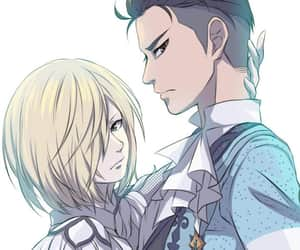 anime, yuri on ice, and otabek altin image