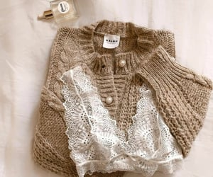 bralette, pullover, and clothes image