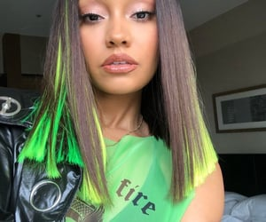 little mix, leigh-anne pinnock, and green image