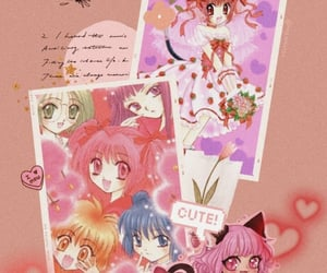 anime, pink, and tokyo mew mew image