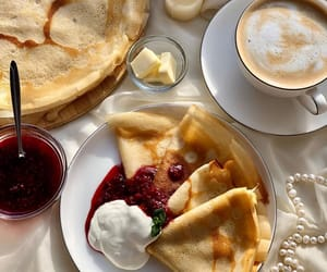 crepes, pale, and food image