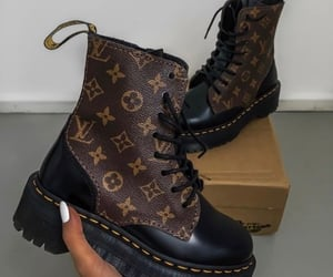 fashion, boots, and Louis Vuitton image
