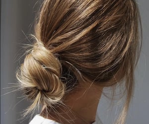 aesthetic, blond hair, and hairstyle image