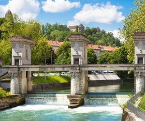 architecture, europe, and slovenia image