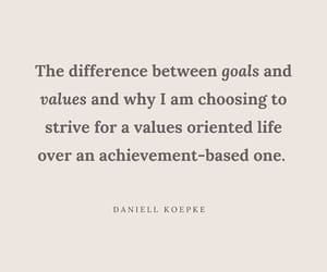 vulnerability, unapologetic, and goals vs values image