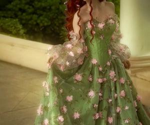dress, dresses, and enchanted image