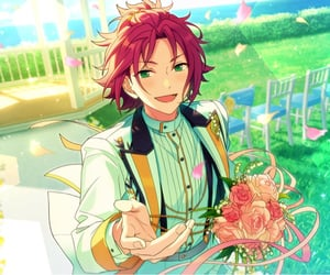 anime, enstars, and card image