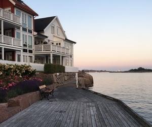 coast, holiday, and norway image