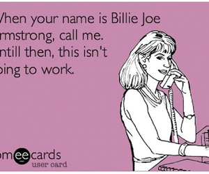 billie joe armstrong, e card, and green day image