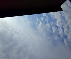 aesthetic, clouds, and horizon image